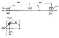 Заземляющий проводник ЗП-1, 1 метр